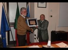 Croce D Argento premiazione De Luca